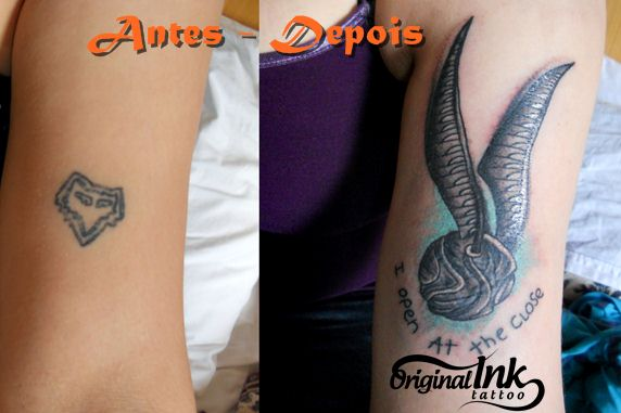 Cobertra de tattoo -  Harry potter